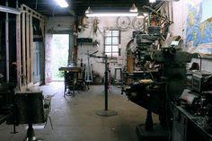 JohnnyCoast Shop 1.jpg #bikes #workshop #bicycle