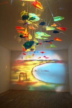 ghost in the machine - Shadow and Light Art by Rashad Alakbarov #colors #light #art #shadow