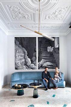 Art Nouveau Style Apartment in Milan / Pietro Russo