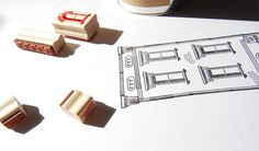 Paper Neighborhood #stamp