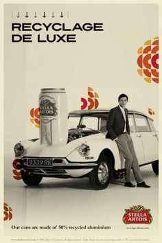Stella Artois Recyclage de Luxe | The Inspiration Room #recyclage #campaign #integrated #print #retro #de #brand #csr #luxe