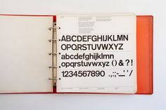 NYCTA Graphics Standards Manual by Massimo Vignelli and Unimark International | Incredible Types #mannual #folder