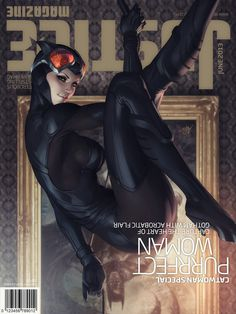 Justice Mag Catwoman by Artgerm on deviantART #batman #catwoman #stanley lau