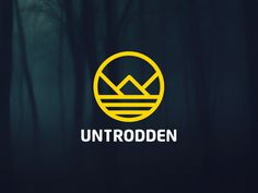 Untrodden #logo #badge