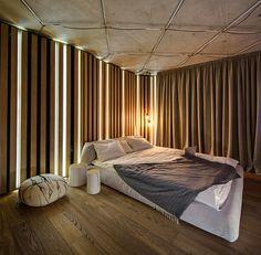 Loft Apartment KaiF by FORM Architects Bureau bedroom interior