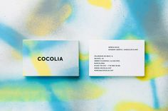 Cocolia #card #spray #business