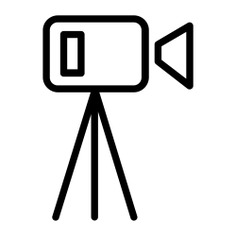 See more icon inspiration related to camera, videocamera, record, video, music and multimedia, entertainment, recording, electronics, recorder, communications and technology on Flaticon.