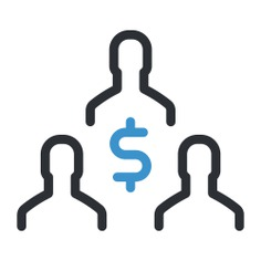 See more icon inspiration related to team, group, people, men, users, dollar symbol, business and finance and networking on Flaticon.