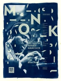 Blue Note Legend - Aldis Ozolins #jazz #note #poster #type #blue