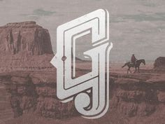 Ol' West G #inspiration #lettering #alphabet #typography