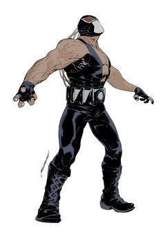 DC_Bane by scabrouspencil on deviantART #bane #batman
