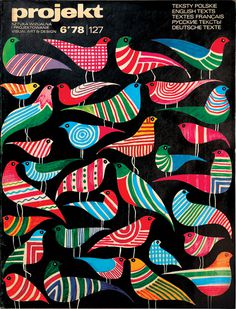 design-is-fine: Hubert Hilscher, artwork for polish projekt magazine, 1978. Via flickr