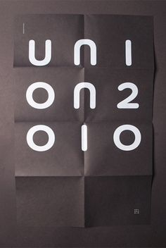 Uni on 2010 Identity | Aleksi Ahjopalo #print #design #graphic #direction #digital #identity #visualization #art
