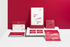 Brand identity Redcat motion #visual identity, stationary