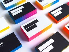 IS Creative Studio / business cards 3rd edition on Behance #business #card #minimalism #paint #cards