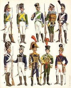 wirtembergian_troops_napoleonic_wars.jpg (348×432) #soldiers #war #napoleonic