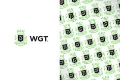 world golf tour identity #logo #pattern