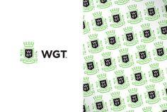 world golf tour identity #logo #pattern