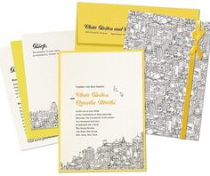 Alle Größen | Metroblog | Flickr - Fotosharing! #house #card #city #yellow #design #minimalism #black #corporate #envelope
