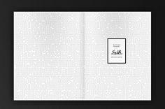 Tony Loftus Portfolio Book on Behance #simplicity #minimal #texture