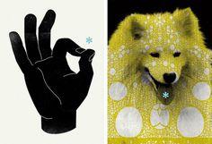 Live 4 This #illustration #poster #dog #hand