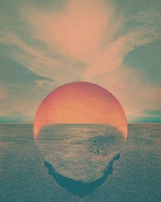 New Tycho Single + Album Artwork » ISO50 Blog – The Blog of Scott Hansen (Tycho / ISO50) #tycho #sunset #poster