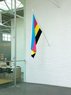 Universal Flag « Helmut Smits #flag #smits #cmyk #helmut