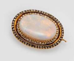 Fine Opal Brooch