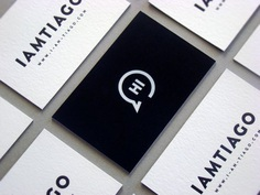 Tiago Business Card | Business Card Design Inspiration