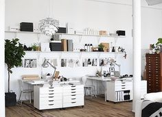 #office #interior #whiteoffice #workspace #sweden #nordicdesign