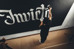 INVICTA - Mapping on Letters on Behance