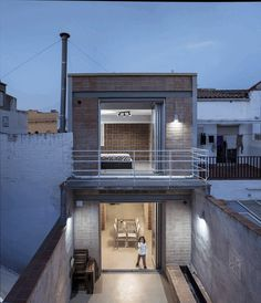 Blacksmith Workshop Turned into a Family Home in Badalona, Spain