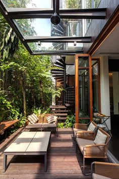 Tan's Garden Villa with luxuriant gardens, rooftop pool and koi pond