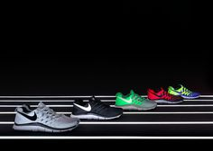 Nike Free 2013 installation by Studio at Large #store #nike #black #stadium