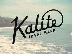 Kalite by Riley Cran #inspiration #creative #lettered #personalized #design #illustration #logo #hand