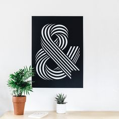 #ampersand #print #typeface #typography #screenprint #home #poster