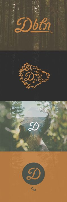 Dbln Co. by Danny Jones #logo #system #identity