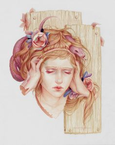 Colorful Pencil Drawings by Jennifer Healy #drawings #l #healy #jennifer #pencil