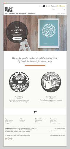 Bold & Noble #website #layout #design #web