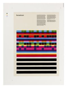 FFFFOUND! | Creative Review - Stone age printing for Æsir #lines #page #print #colors #blocks #squares