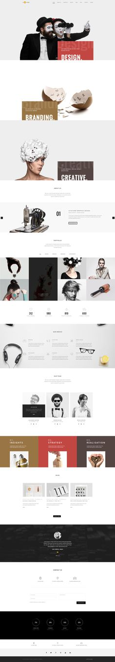 H-Code #Responsive & #Multipurpose #OnePage and #MultiPage #Template For #Agency by #ThemeZaa http://goo.gl/ygs4kX