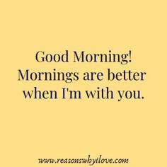 Good Morning Message For Husband - Good Morning