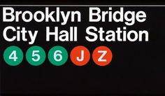 Navigating the New York subway / Design Assembly #signage #ny