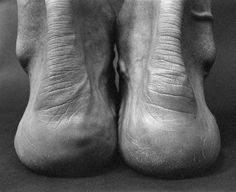 Photographs by Lucyna Kolendo :: Title: Bertrand Russell #white #sole #ankle #black #human #heel #photography #and #wrinkles #feet #beauty