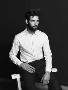EXCLUSIVE: Barry vd Zeeuw by Zeb Daemen #fashion #beard #man