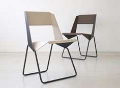 Wood LUC Chair Contemporary