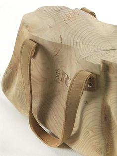 Wooden Bags Furniture-4 #bag #wood #stool