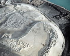 but does it float #mining #earth #birds #eye #sand #view