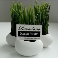On SaleEgg Sprouts Set of 6 Porcelain Egg Shells plus by Revisions #design #branding