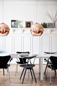 tanja vibe's dining room #interior #design #decor #deco #decoration